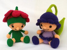 Crochet pattern Flower Children Primerose and Bell