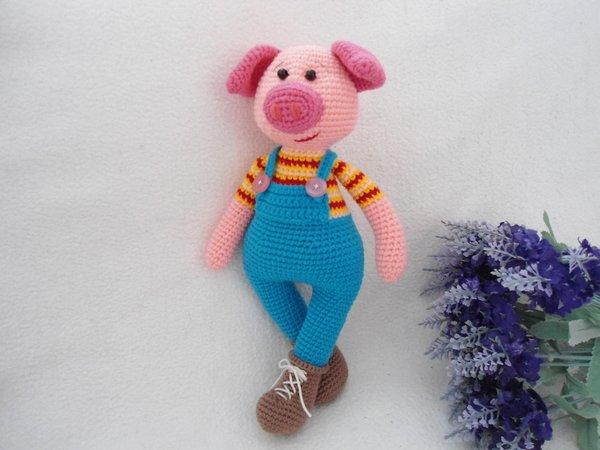 Lucky Pig Crochet Pattern