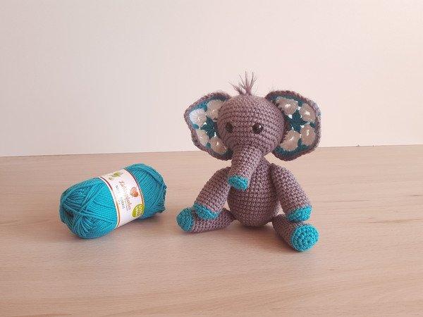 enzo der kleine elefant h kelanleitung dickh uter babykuscheltier kuscheltier f r baby s. Black Bedroom Furniture Sets. Home Design Ideas