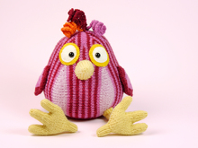 FUNNY BIRD knitting pattern