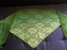 Irish Shamrock Shawl