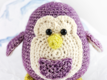 Pelle the penguin - crochet pattern