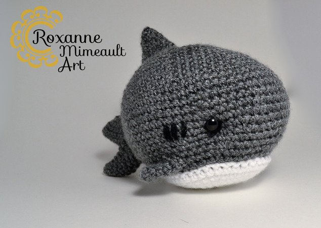 Baby shark and family amigurumi crochet. | Crochet, Crochet shark ... | 450x634