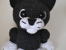 Pixie the cat amigurumi pattern crochet toy
