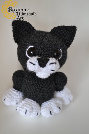 Cat Crochet Pattern - The Kitty Cats | 450x300
