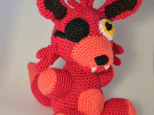 Foxy Fnaf amigurumi Pattern (US english)