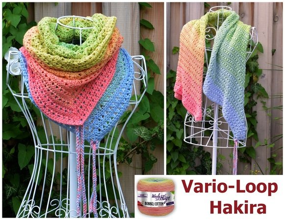 Vario-Loop HAKIRA häkeln mit 1 Woolly-Hugs-Bobbel-Cotton mit Veronika Hug