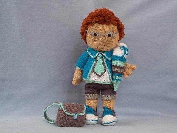 Puppe Häkeln Amigurumi Junge Häkeln