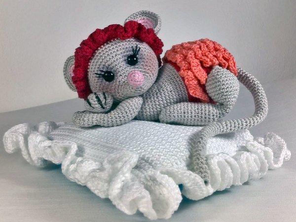 Häkelanleitung Baby Maus Lolita