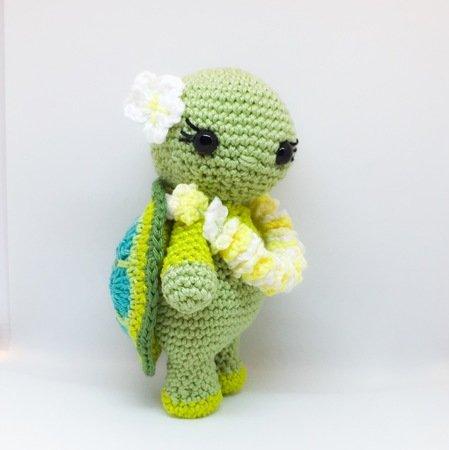 Häkelanleitung Schildkröte Miss Mona
