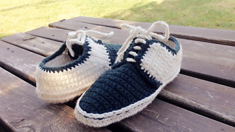 ba272340bd702 Crochet Slipper Pattern for Men/women and teens, Oxford style Shoes, Us  3-12, crochet house shoes, with video