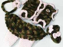 Baby Girl Pattern, Camo Baby