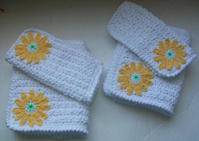 Crochet pattern Hand Towels and Facecloths