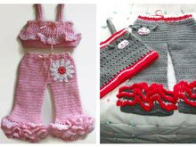 Crochet Pants and Tops Patterns