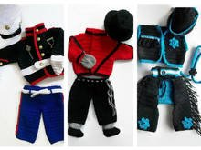 Boys crochet costumes
