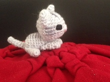 Tiny cat amigurumi, super easy and detailed animal toys, beginner amigurumi toys