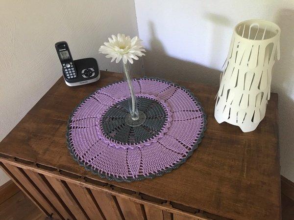 Tischdeckchen Häkeln Runde Deckchen Häkeln