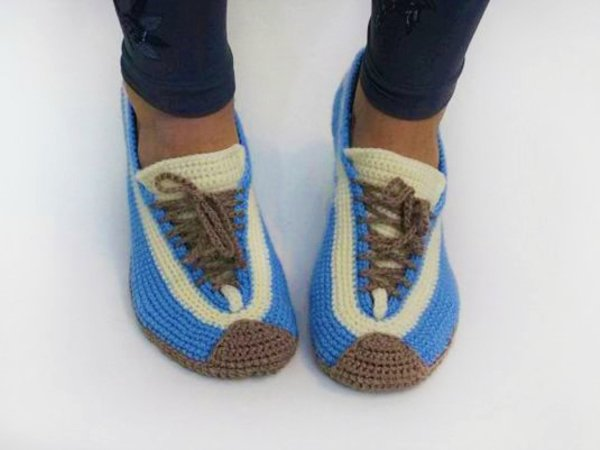 Sneakers Crochet Pattern