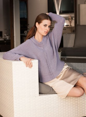 Strickanleitung Pullover Lindsay