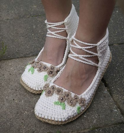 Crochet Pattern Summer shoes