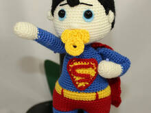Super Hero Baby Amigurumi PDF Pattern - Beginner