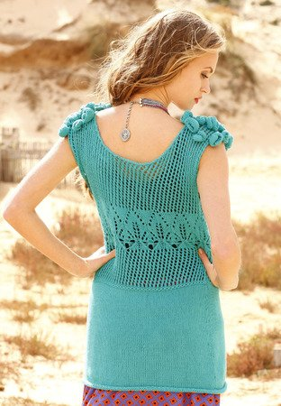 Strickanleitung Minikleid Carlina