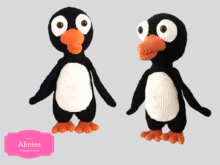 Pinguin amigurumi chrochet tutorial