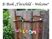 "E-Book ""Türschild - Welcome"""