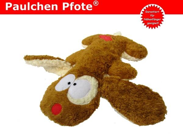 Kuscheltier Paulchen Pfote®, Plüschtier Hund - Schnittmuster ...