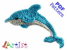 Dolphin + Sea star crochet Pattern
