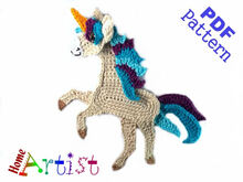 Horse / Unicorn  crochet pattern