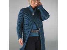 "Strickanleitung Damenjacke ""Sporty"" 752040"