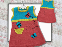 Butterfly Tunic Driess (1 - 5 year olds)