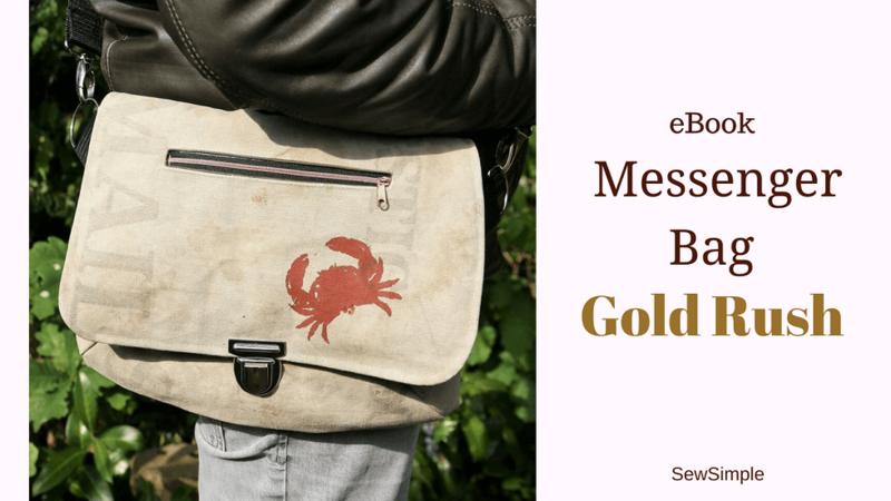 E-Book: Messenger Bag nähen: Anleitung für Männer-Tasche \