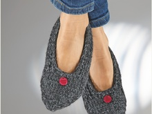 "Strickanleitung Home-Ballerinas ""Record"" 754180"