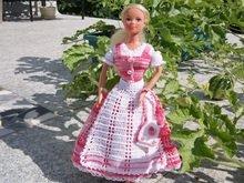 Häkelanleitung 3 Teiliges Barbie Dirndl Und Tasche