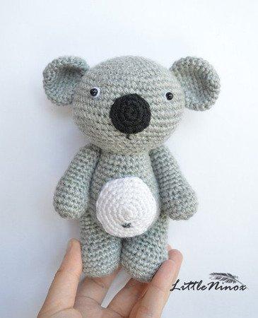 Koala Amigurumi Crochet Pattern Diy Handmade Toy