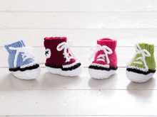 Trainer Style Baby Booties