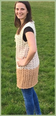 Longtop LUCKY aus Woolly Hugs NOBLY stricken