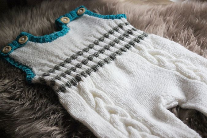 Baby Outfit Knitting Pattern