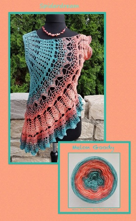 Spiderdream *The slightly different crochet tunic*