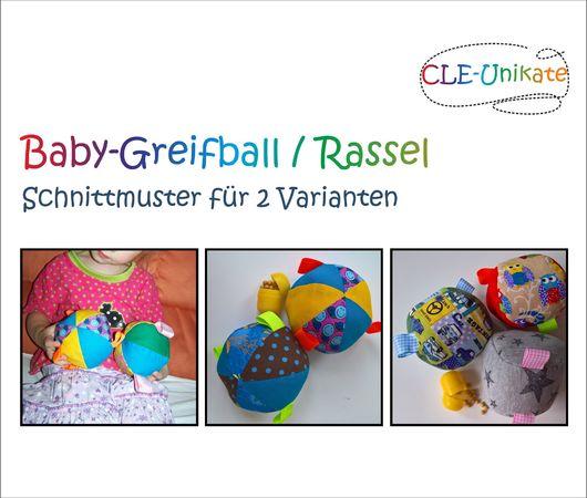 Baby Greifball Rassel
