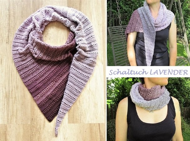 Schal Multimus Aus 1 Woolly Hugs Bobbel Cotton Oder Bobbel Merino