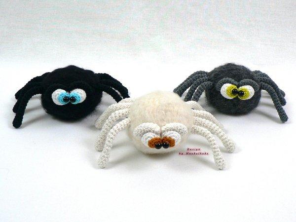 Spinne Häkeln Halloween Deko Häkeln
