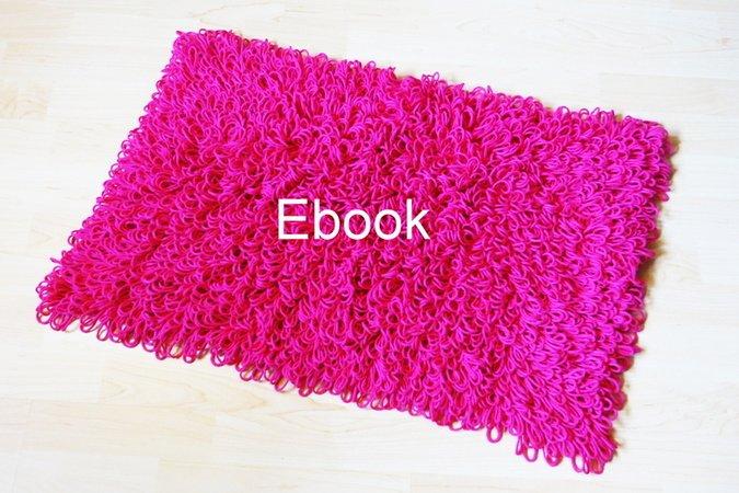 E-Book 22 Häkelanleitung Teppich, Läufer