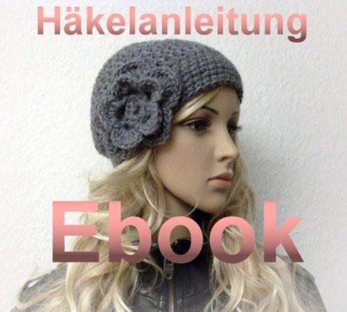 E-Book 12 Häkelanleitung Vintagemütze Minou ♥
