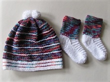 Strickanleitung Kinder-Set Twix