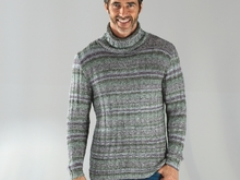 "Strickanleitung Herrenpullover ""Messina"" 758140"