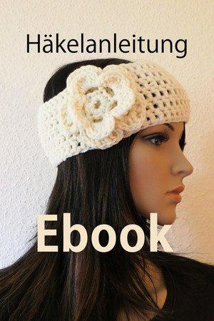 E-Book 17 Häkelanleitung Stirnband Vintage ♥