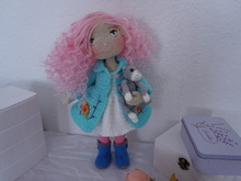 Tilda doll with clothes crochet pattern ( not include hat and embroidery process)